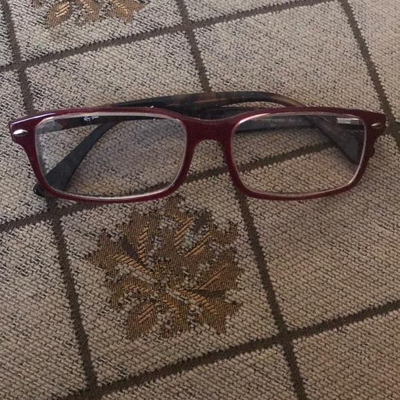 Ray Ban Full Rim Optical Eyeglasses RB5162 Maroon